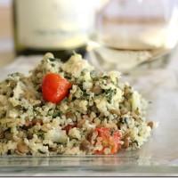 Mediterranean Quinoa Casserole
