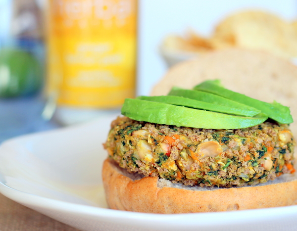 White Bean, Kale and Sweet Potato Burgers