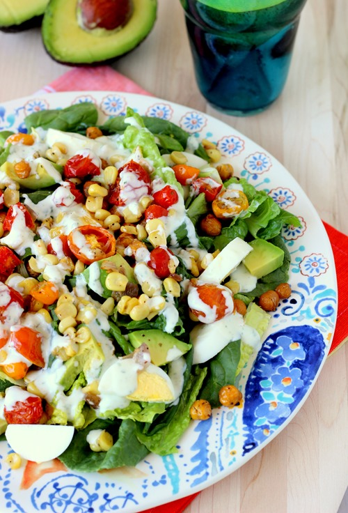 Roasted Corn & Tomato Summer Salad (52)