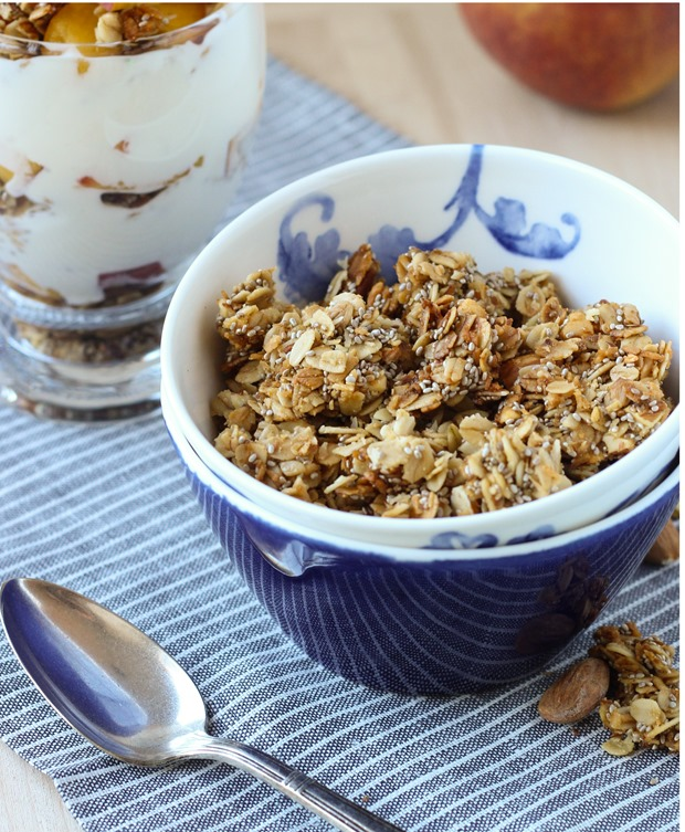 Honey Almond Chia Granola 10