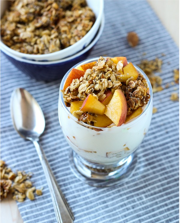 Honey Almond Chia Granola 6