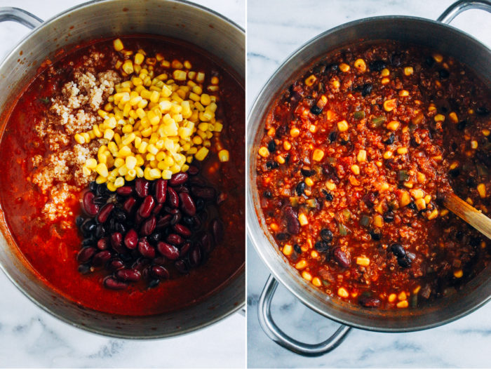 Best-Ever Quinoa Chili (vegan and gluten-free)
