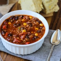 Best-Ever Quinoa Chili {vegan and gluten-free}