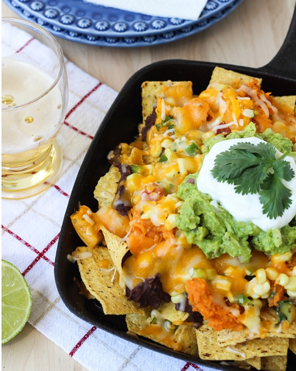Sweet Potato Nachos with Heirloom Tomato Salsa 2