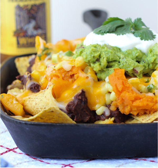 Sweet Potato Nachos with Heirloom Tomato Salsa 4