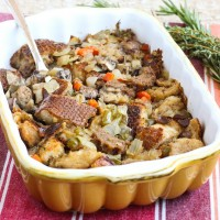 Vegan Sausage Sourdough Stuffing