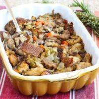Vegan Sausage Sourdough Stuffing