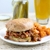 Lentil Sloppy Joes {vegan and gluten-free}