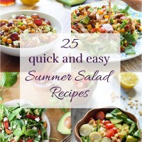 25 Quick and Easy Summer Salad Recipes
