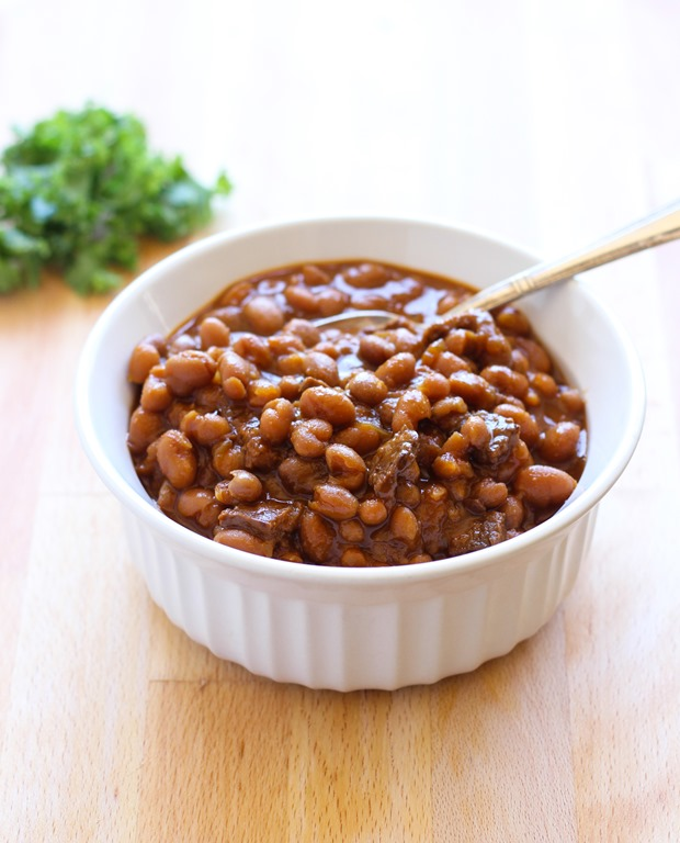 Slow Cooker Vegetarian Chipotle Baked Beans Recipes — Dishmaps