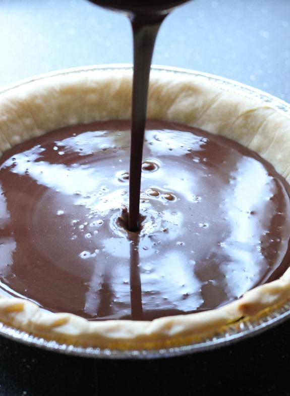Silk Chocolate Pie