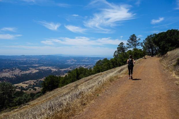 Hiking Mt Diablo Grand Loop