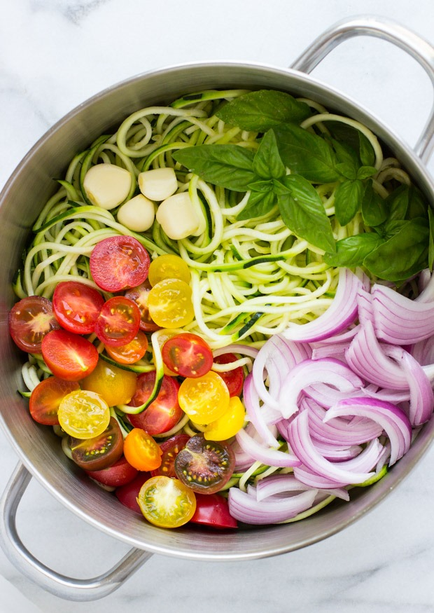 Vegan recipes zucchini pasta