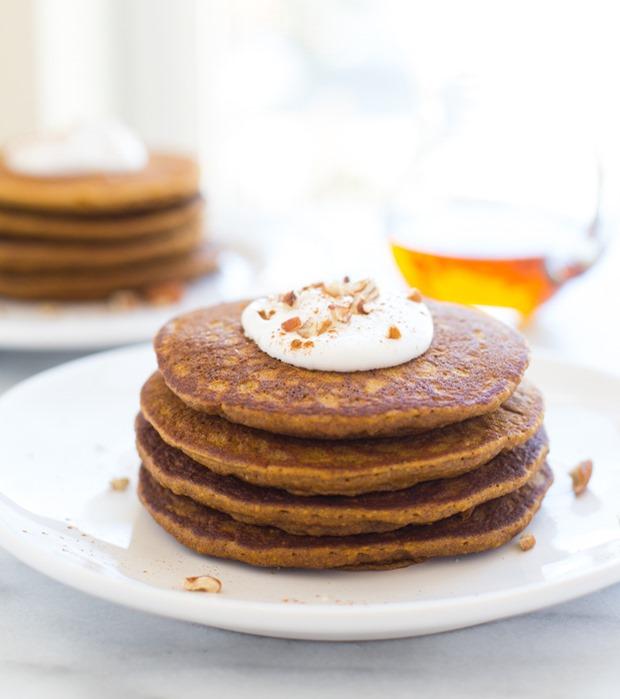 Gluten free Pumpkin Pie Pancakes Making Thyme for Health