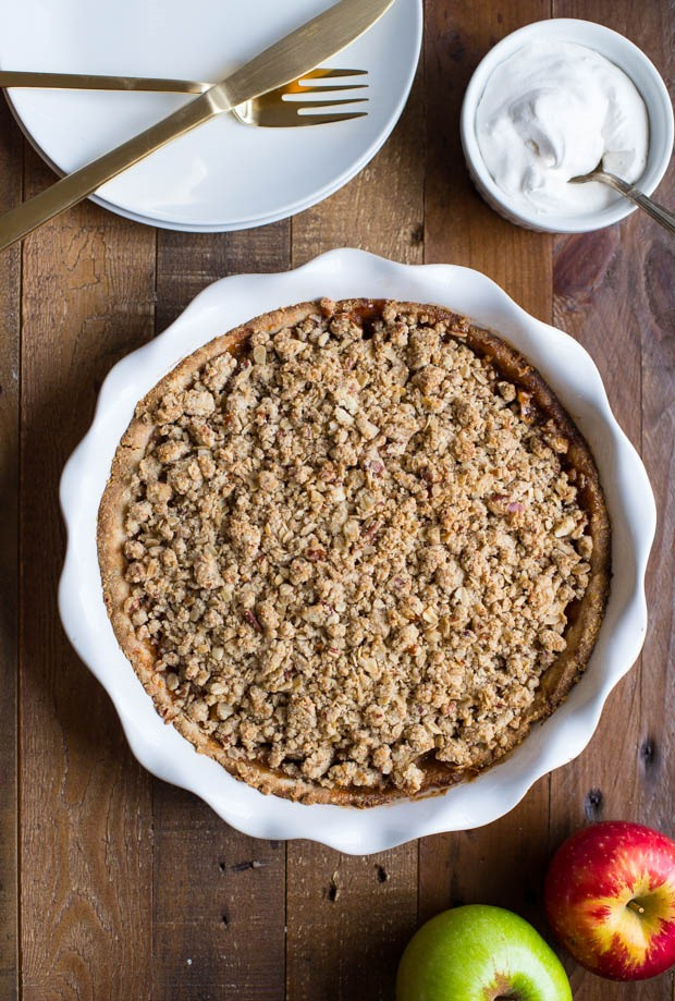 Not Your Grandma's Apple Crumb Pie