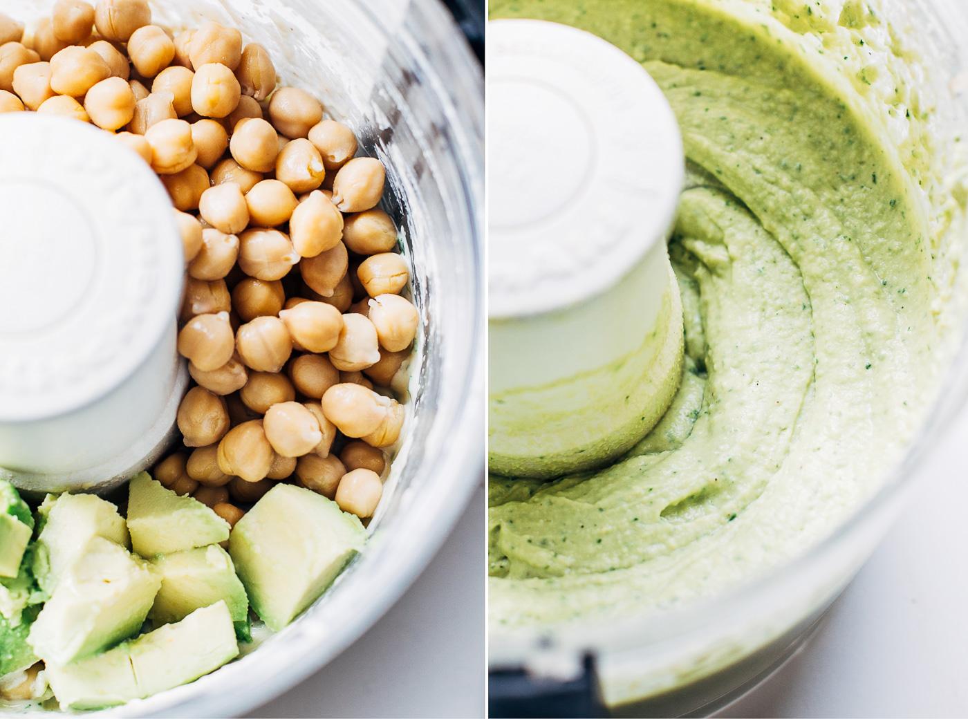 Creamy Avocado Hummus - Making Thyme for Health