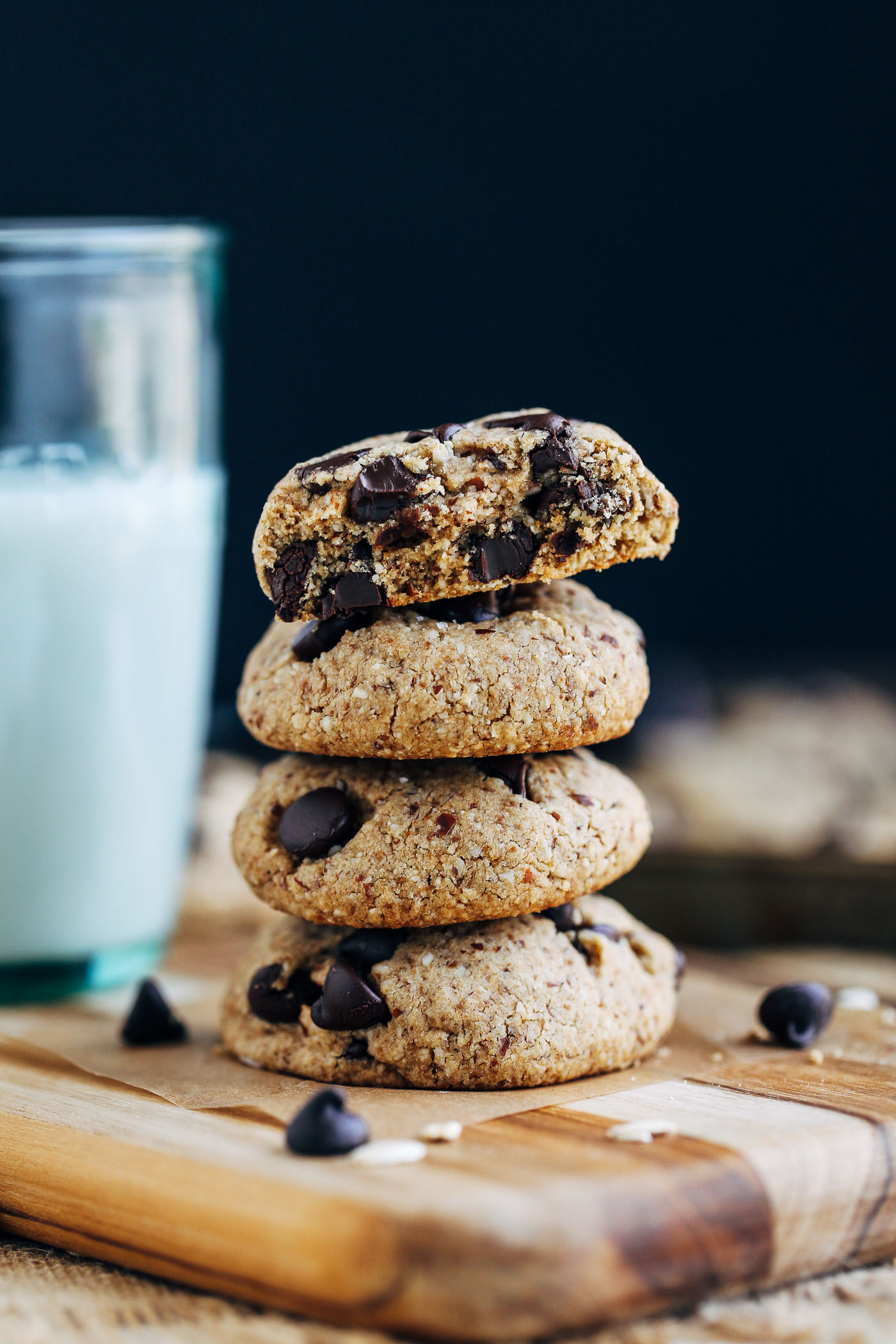 Chocolate Chip Cookies Without Baking Sheet