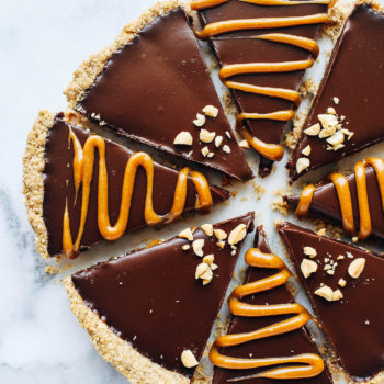 "Peanut Butter Lover's Chocolate Tart from ""Oh She Glows Everyday ..."