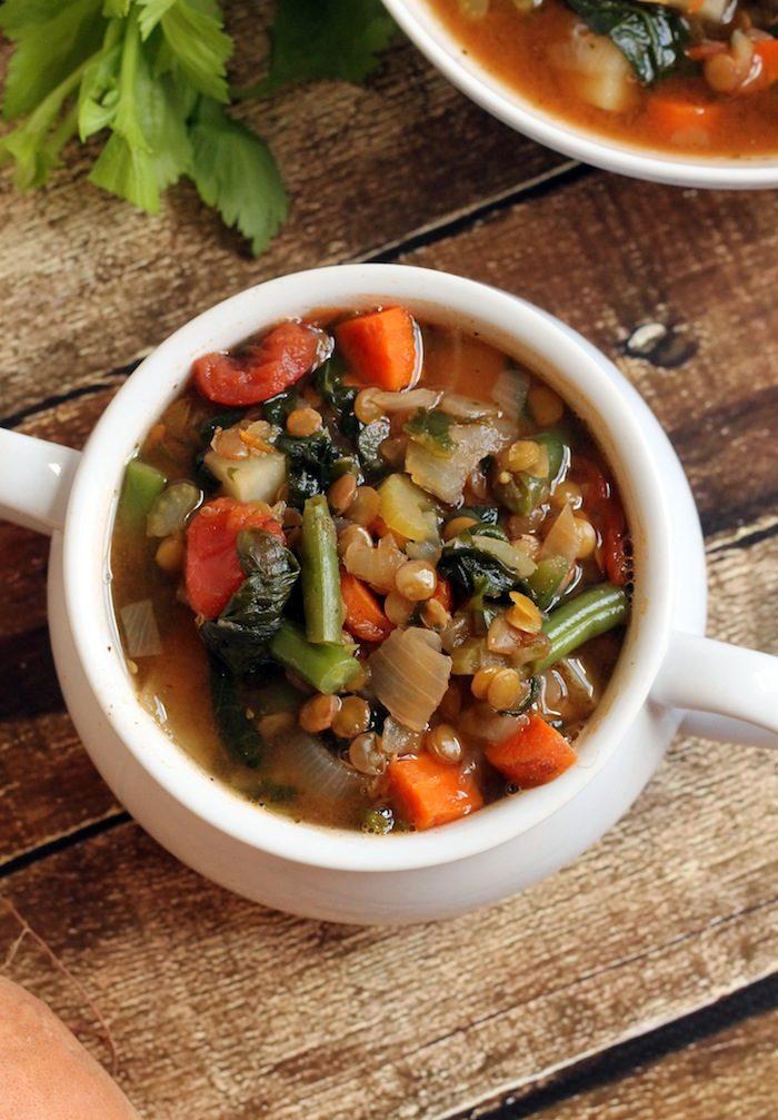 Lentil Vegetable Soupfrom Hummusapien