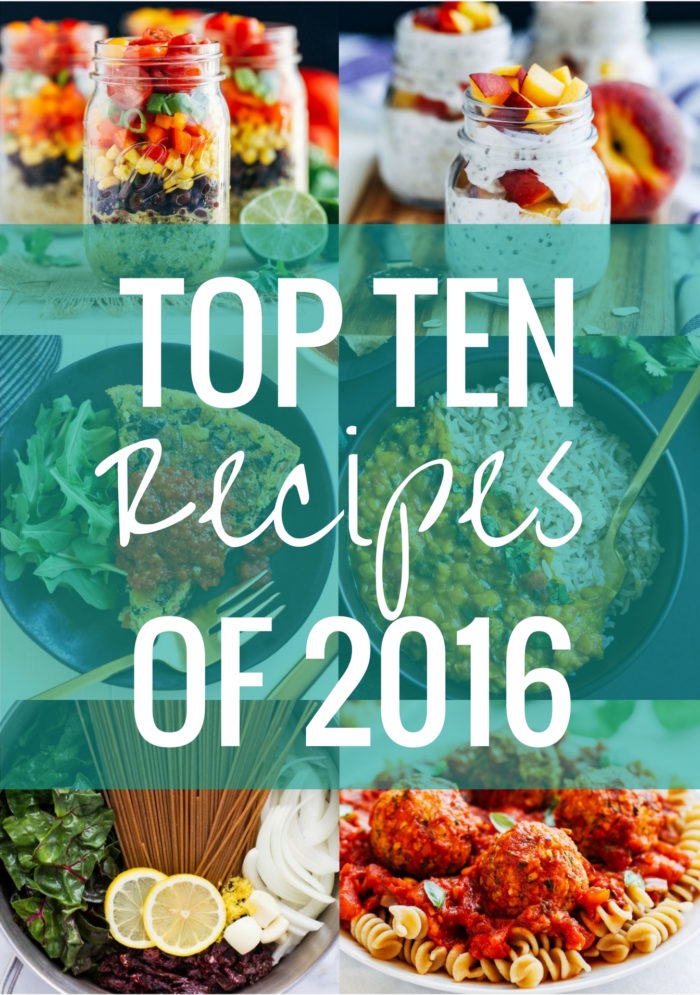 THE BEST RECIPES OF 2016 | Making Thyme for Health