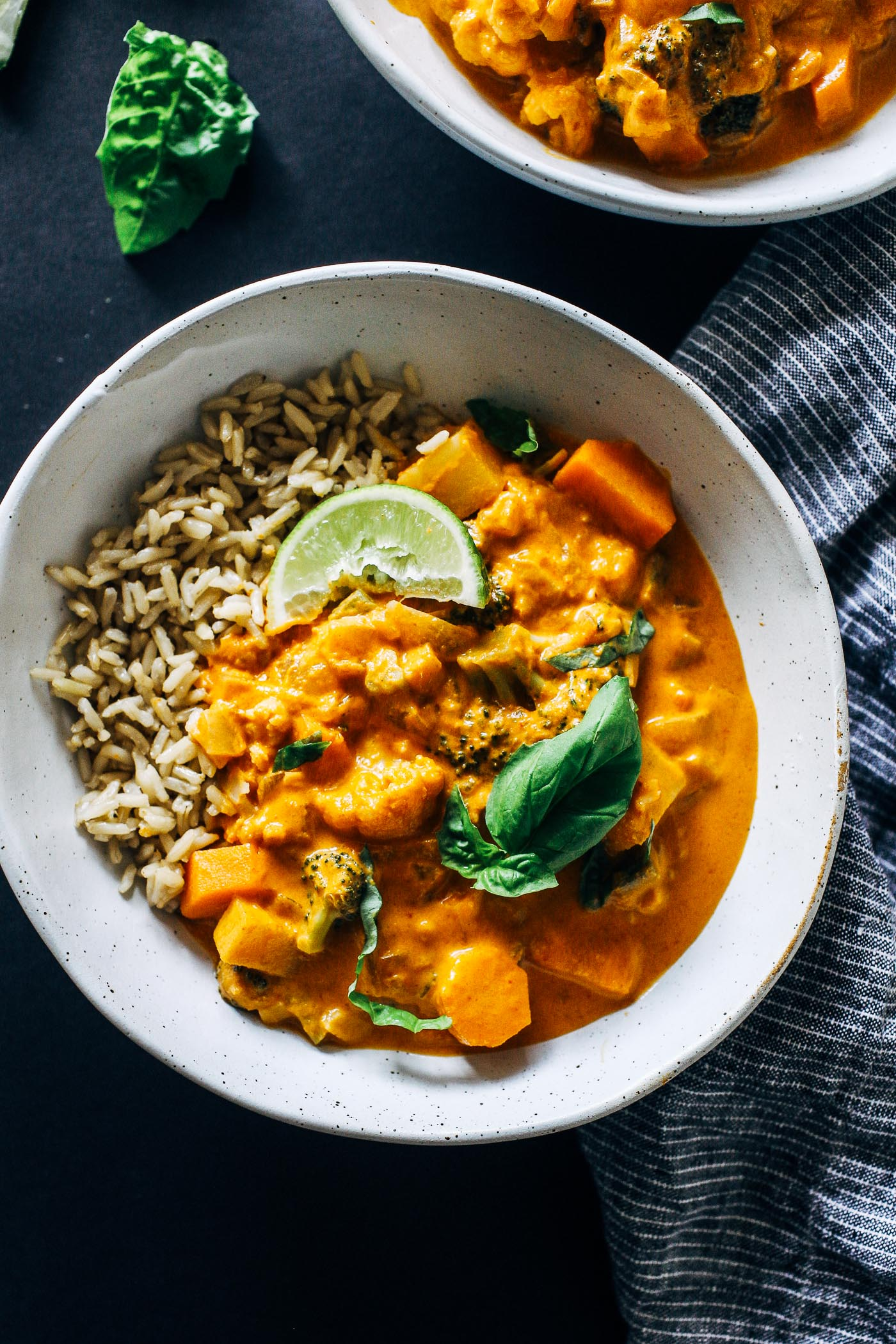 One-Pot Vegetable Thai Red Curry - Making Thyme For Health