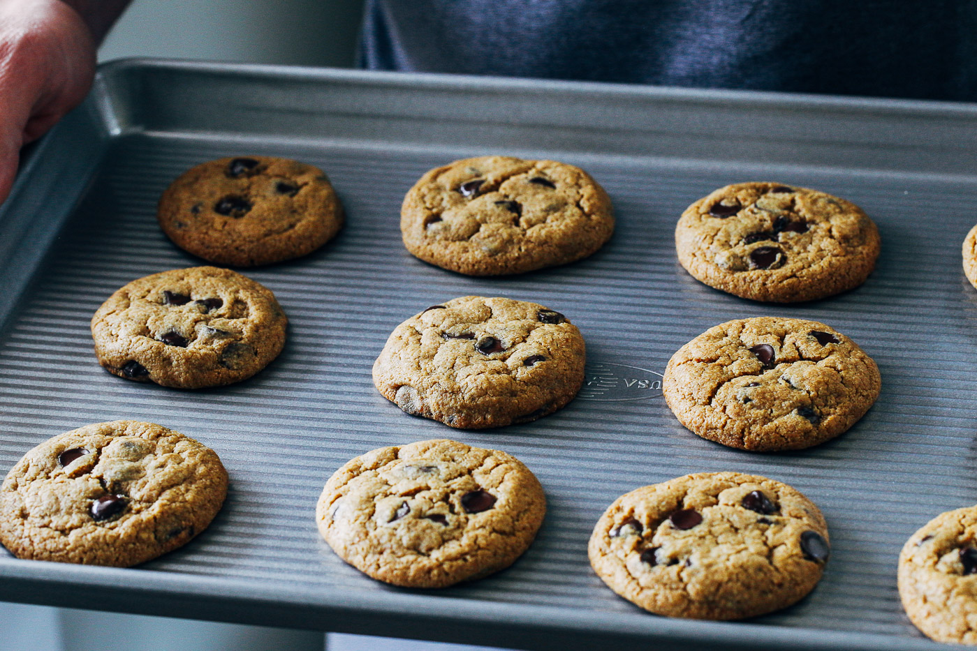 The Best Vegan and Gluten-free Chocolate Chip Cookies - Making ...