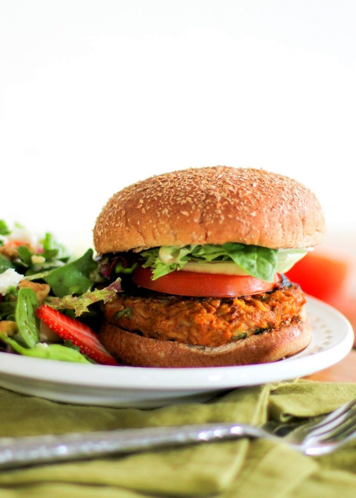 Sweet Potato Veggie Burgers from The Roasted Root