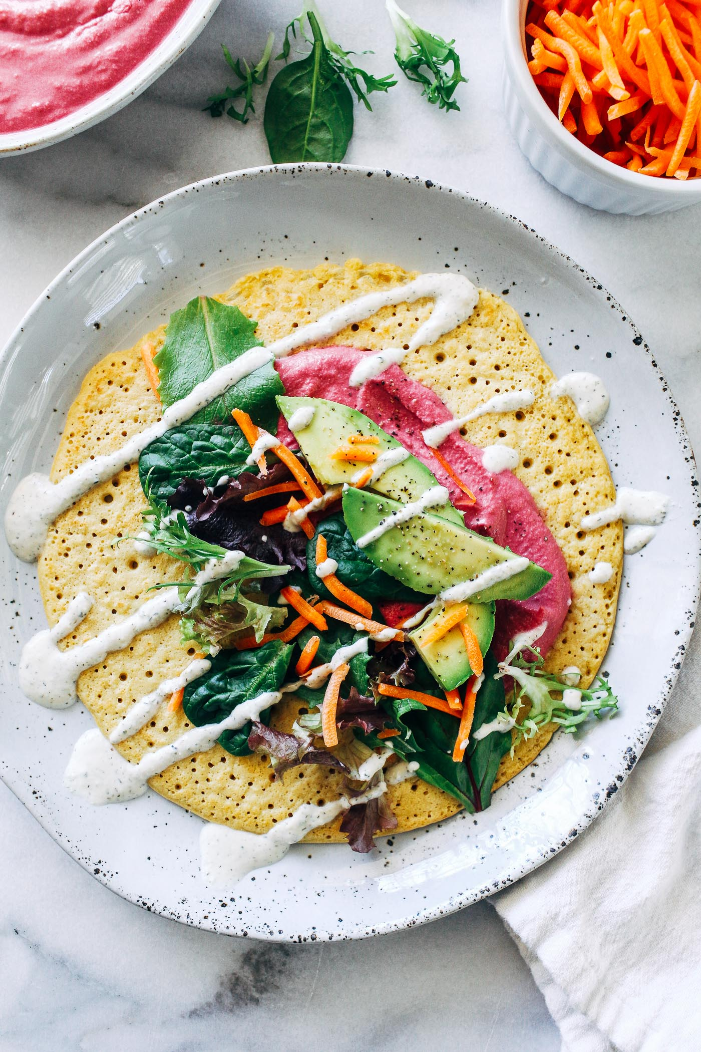 Chickpea Flour Crepes Making Thyme For Health