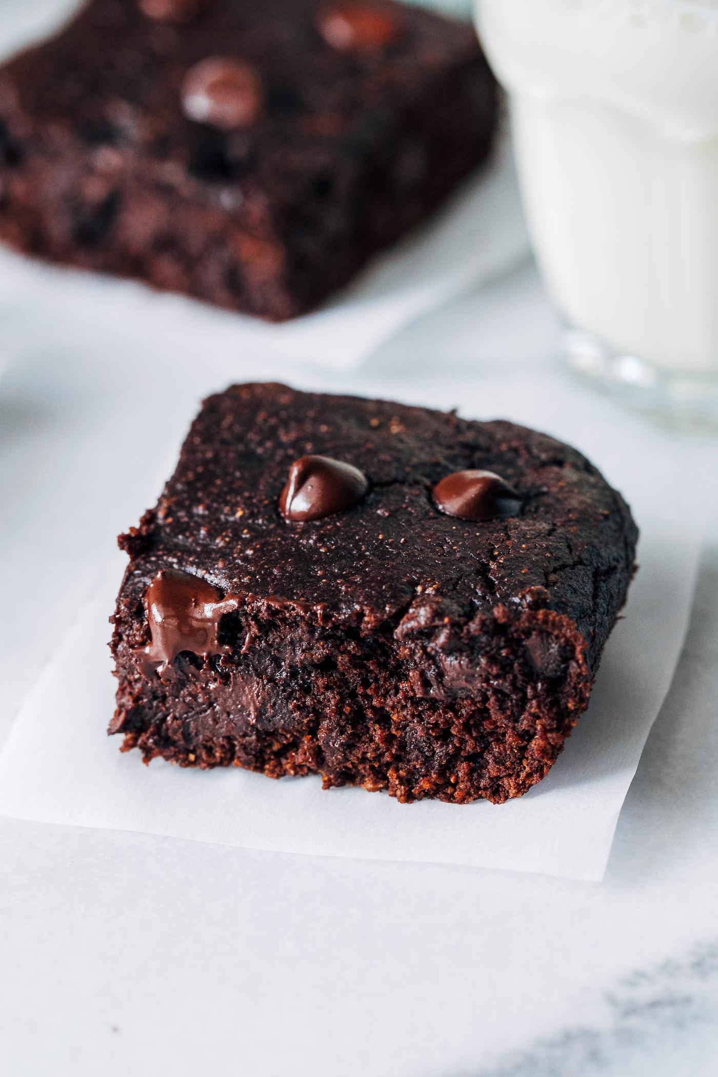 peanutbutter brownie opskrift