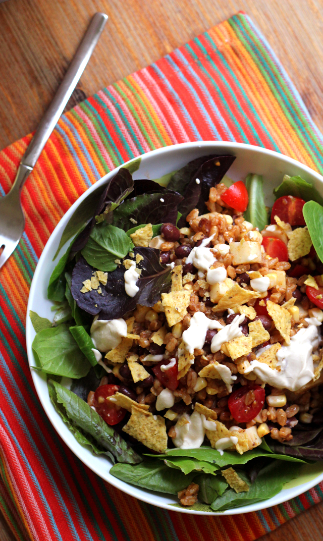 Vegetarian Taco Salad from Eats Well With Others