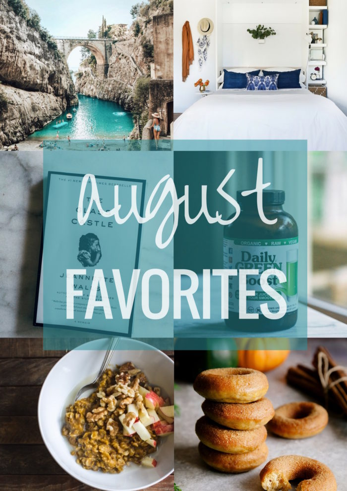 August Favorites | Making Thyme for Health