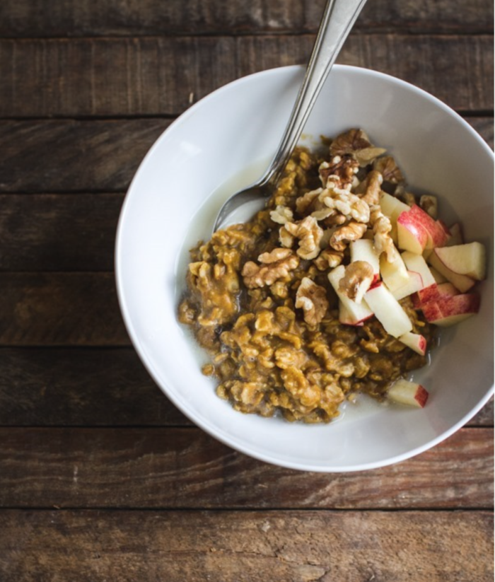 Best Ever Pumpkin Oatmeal