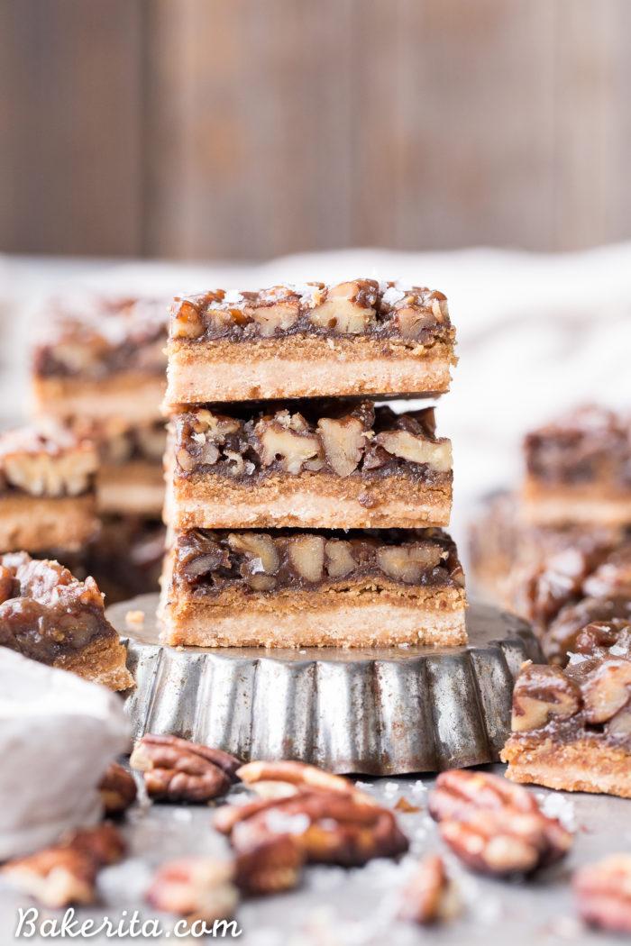 Favorite Dessert: Pecan Pie Bars.