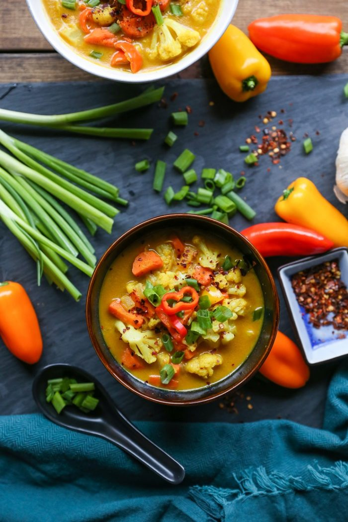 Coconut Curry Vegetable Soup from The Roasted Root