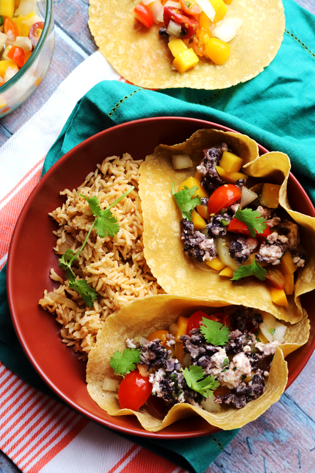 Crispy Black Bean Tacos from Eats Well With Others