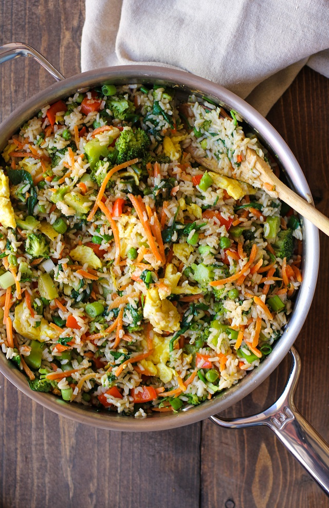 Vegetable Fried Rice from The Roasted Root