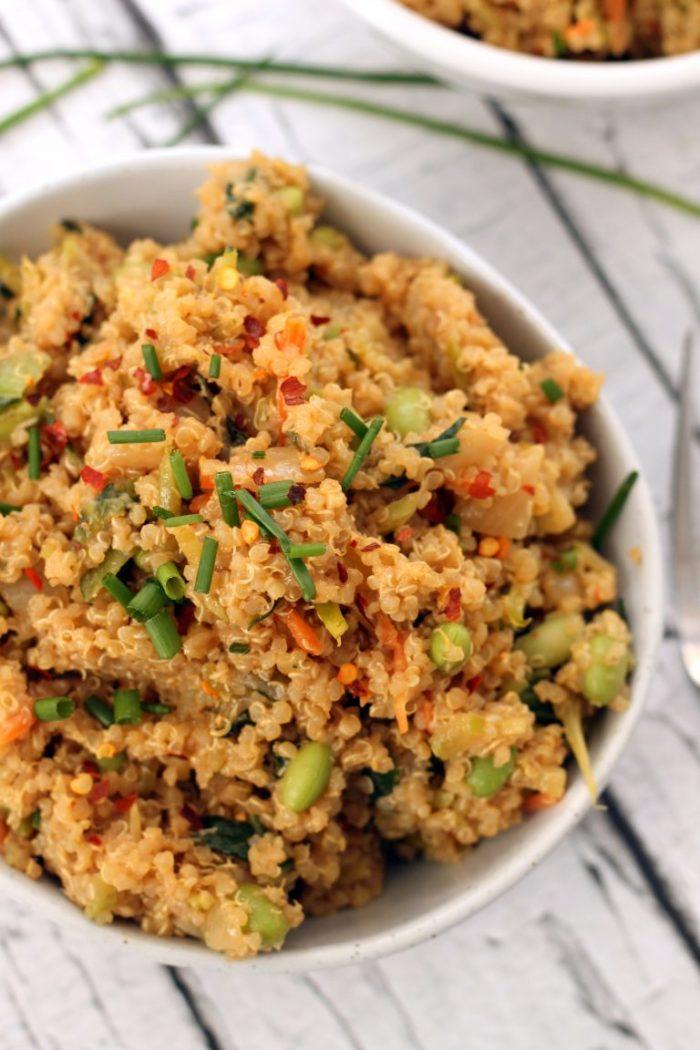 Thai Quinoa Fried Rice from Hummusapien