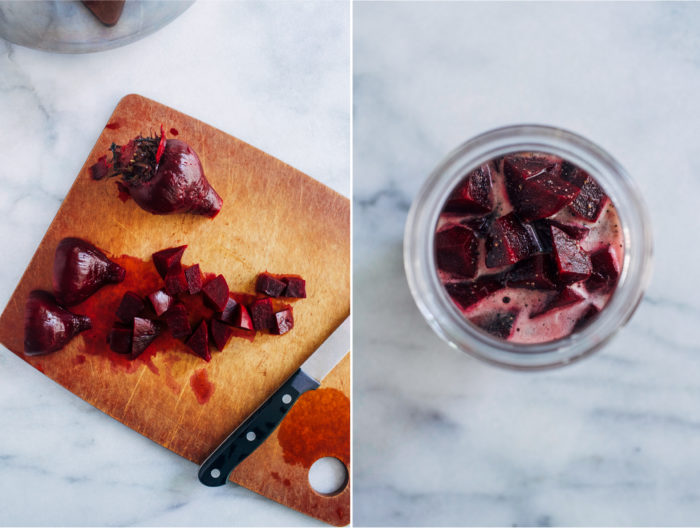 How to Make Pickled Beets- an easy method for making delicious pickled beets to have on hand for healthy salads, bowls, or snacking!