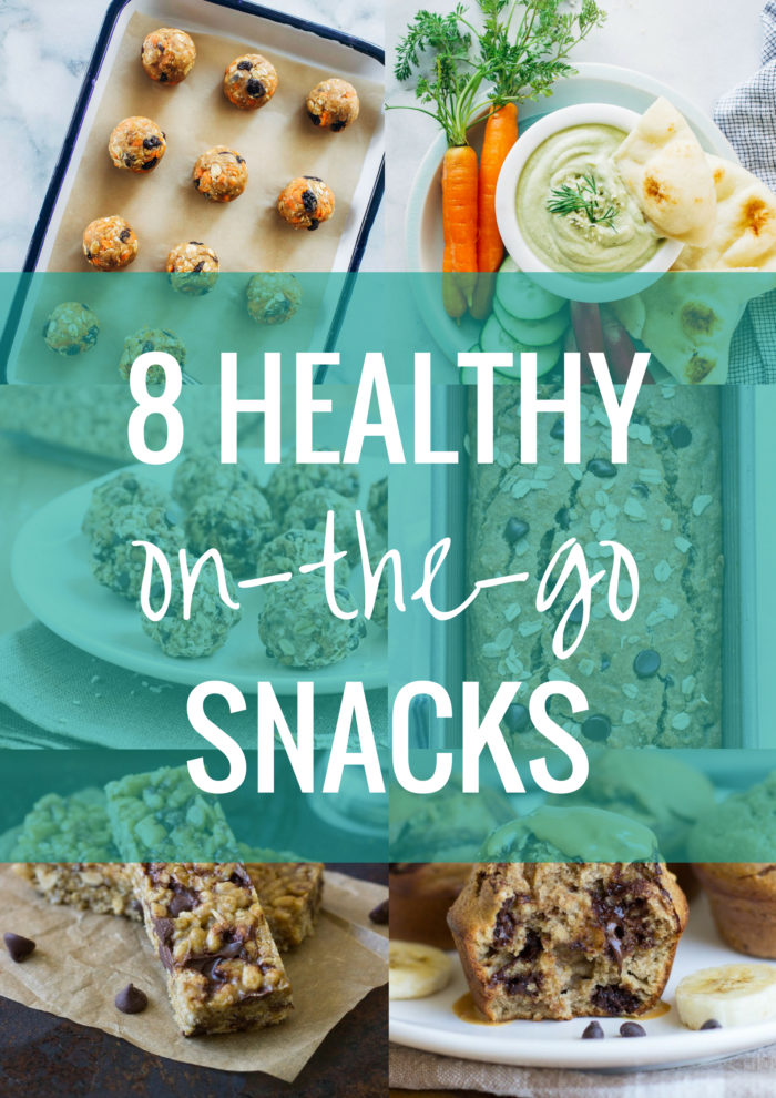8 Healthy On-the-Go Snacks