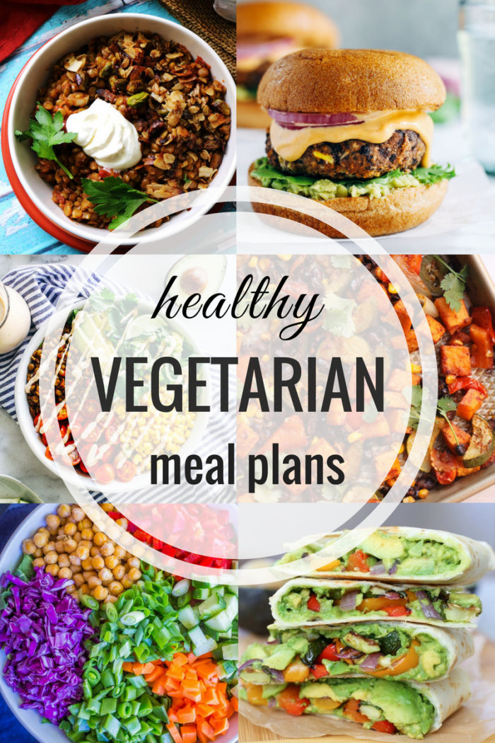 Healthy Vegetarian Meal Plan 06 17 2019 The Roasted Root