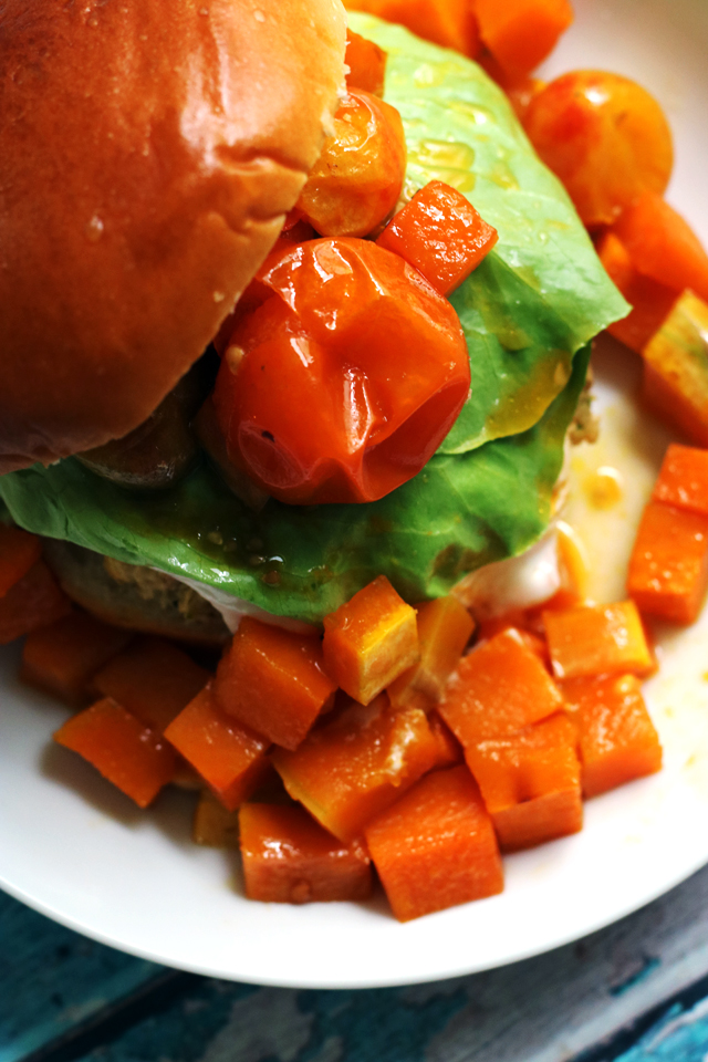 Chickpea Shawarma Burgers from Eats Well With Others
