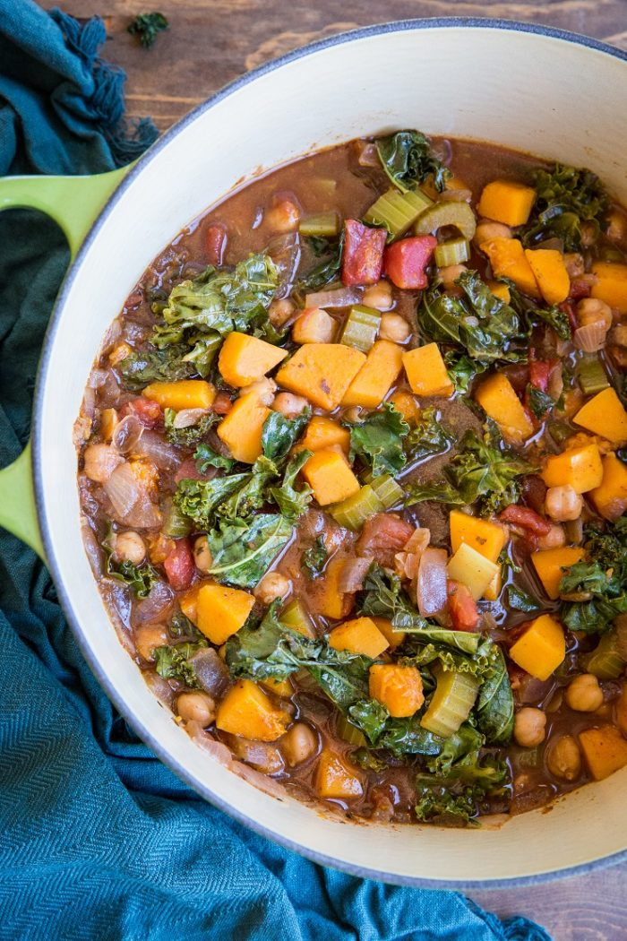 Butternut Squash and Chickpea Chili from The Roasted Root