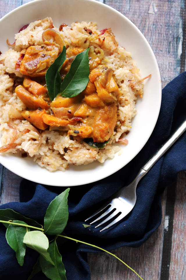 Pumpkin, Black-Eyed Pea and Coconut Curry from Eats Well With Others