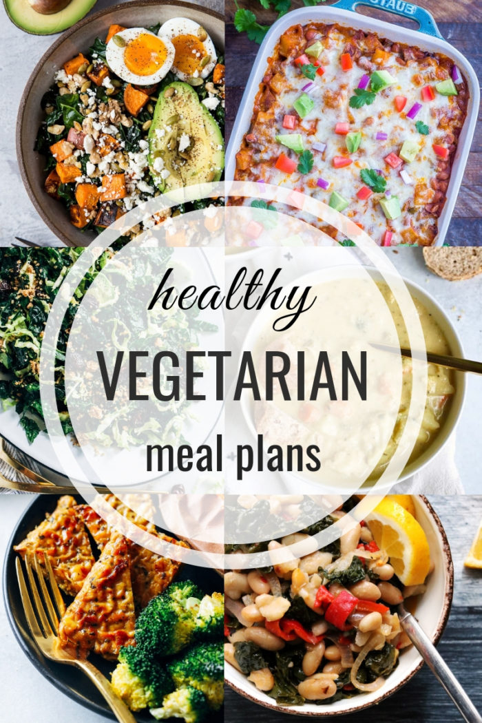 Healthy Vegetarian Meal Plan: Week of 5-11-19