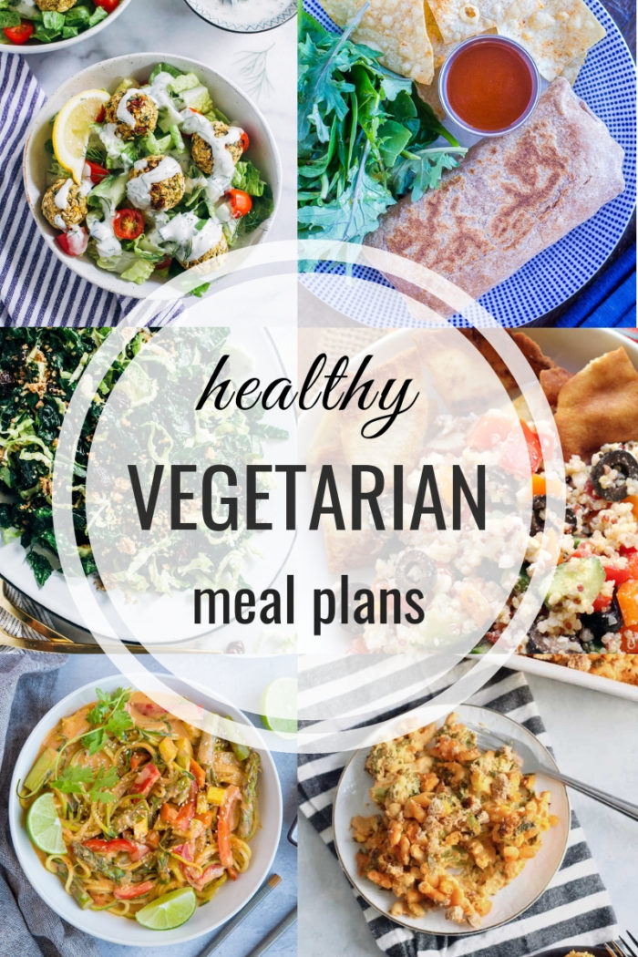 Healthy Vegetarian Meal Plan 05 26 2019 The Roasted Root