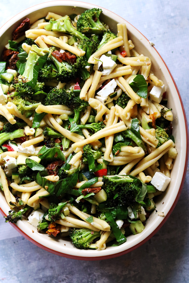 Greek Pasta Salad from Eats Well With Others
