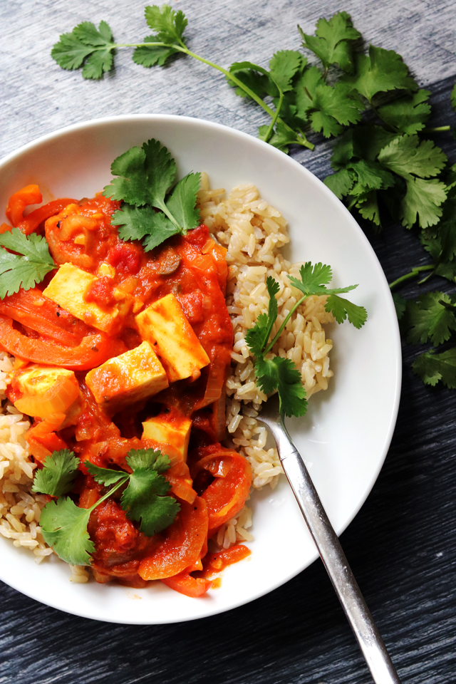 Pepper and Paneer Curry from Eats Well With Others